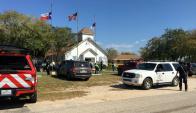 En la iglesia había unas 50 personas cuando se produjo el tiroteo. Foto: Reuters