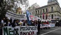 Los docentes rechazaron la propuesta elevada por Secundaria. Foto: M. Bonjour