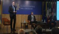 Jean Tirole en la conferencia sobre economia en el Banco Central. Foto: F. Flores