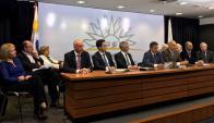 Gobierno anuncia acuerdo con UPM por nueva planta de celulosa. Foto: Pablo Fernández