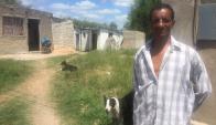 Ramón Amaro, hermano del trabajador rural fallecido, dijo que el procesamiento es una advertencia. Foto: N. Araújo