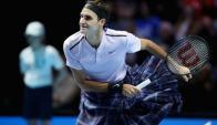 Federer con la falda tradicional de Escocia