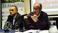 """Negociador por los empresarios cree que hay que terminar con el """"tumor"""" que supuso la queja ante la OIT. Foto: G. Pérez"""