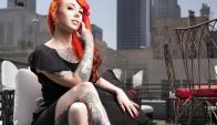 Megan Massacre es la tatuadora del momento