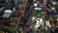 La economía venezolana está hundida en una crisis, con un proceso de hiperinflación este año. Foto: EFE