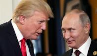 Trump y Putin. Foto: EFE