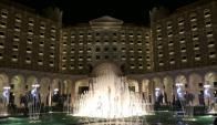 El Hotel Ritz-Carlton de Riad. Foto: AFP.