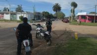 Una ola de asaltos y un homicidio en el balneario San Luis movilizaron a la Policía. Foto: F. Flores