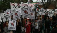 Cincuentones: reclaman votar el proyecto el próximo 5 de diciembre en el Parlamento. Foto: F. Flores