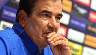 Jorge Luis Pinto, entrenador de Honduras