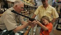 EE.UU: mueren por año unas 340.000 personas por armas. Foto: AFP