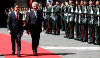 Tabaré Vázquez mantuvo una reunión con su par Enrique Peña Nieto. Foto: Reuters