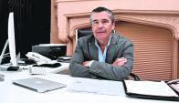 Ignacio Aguiar. Ponderó la ley de vivienda de interés social para el crecimiento del sector.