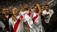 Perú entró en el Mundial y se festejó a lo grande