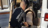 Encontraron un cañón con el que arrojaban droga desde México. Foto: Procuraduría General de la República de Sonora