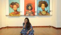 Victoria Rodríguez inauguró primera muestra de pinturas