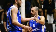 Capitán. Nicolás Mazzarino aportó nueve puntos y 10 asistencias. Foto: Gerardo Pérez