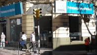 Robo casa financiera en Salto. Foto: Luis Pérez