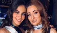 Miss Irak con Miss Israel