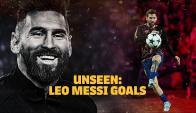 Goles de Messi nunca antes vistos