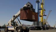 TEUS: Puerto movilizó unos 19.000 contenedores más que en 2016. Foto: Archivo