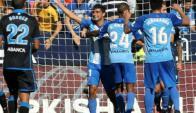 Un gol de Gonzalo Castro en la victoria de Málaga