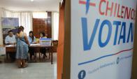 Unos 14 millones de chilenos estaban habilitados para votar. Foto: AFP