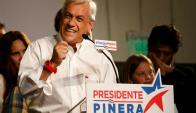 """""""Recibimos estos resultados con gratitud, humildad y esperanza"""", dijo el candidato. Foto: Reuters"""