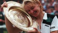 Jana Novotna, campeona en Wimbledon 1998