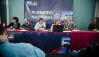 Plenario: desde que renunció Sendic no se reúne el máximo organismo del FA. Foto: F. Flores