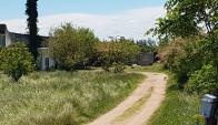 Camino por el que se accede a la casa de la víctima. Foto: Leonardo Pedrouza.