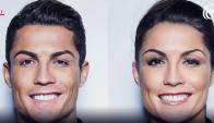 Cristiano Ronaldo en versión femenina