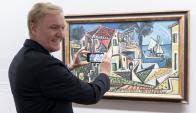 Realidad aumentada en el Museo Albertina de Viena. Foto: AFP