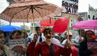 Astorismo quedó en minoría en la interna oficialista en su intento de modificar el proyecto. Foto: F. Ponzetto