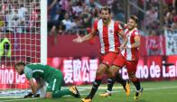 Cristhian Stuani está en un buen momento en la Liga Española