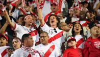 Euforia. Los peruanos celebraron tras 35 años su regreso a la Copa del Mundo.