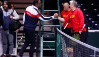 Copa Davis. Foto: AFP.