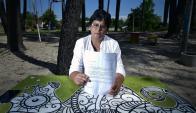 Nadya Viera tiene 52 años y le escribió una carta a Jorge Basso para solicitarle la medicación de alto costo que necesita. Foto: F. Ponzetto