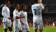 Cristiano Ronaldo se sacó la mufa: volvió a anotar en liga. Foto: Reuters