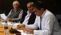 Comisión a Sendic le hicieron preguntas sobre su gestión. Foto. A. Colemnga