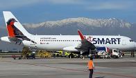 Avión JetSmart. Foto: Wikimedia Commons