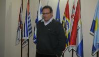 Aníbal Pereyra, intendente de Rocha. Foto: Ariel Colmegna.