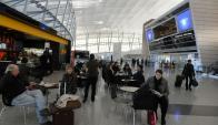 Aeropuerto de Carrasco. Foto: Archivo El País