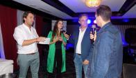 Diego Sorondo, Luis Alberto Carballo, Luciana Acuña y Maxi De la Cruz