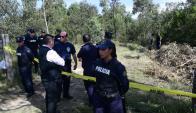 En medio de un bosque el asesino de Brissa decidió enterrar su cuerpo. Foto: M. Bonjour