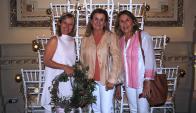 Rose Galfione, Carolina y Victoria Díaz Solsona.
