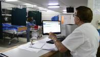 130: es la cantidad de pacientes por guardia que se pueden atender en la emergencia del Maciel. Foto: M. Bonjour
