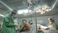Médicos advierten por la cantidad de accidentes en hogares uruguayos. Foto: Archivo El País