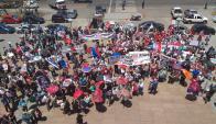 Marcha en defensa al proyecto de ley por cincuentones. Foto: Darwin Borrelli