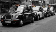 Taxis de Londres. Foto: Pixabay